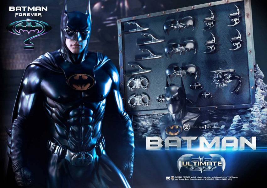 MMBM-01UT 蝙蝠俠3 蝙蝠俠 雕像 終極版
