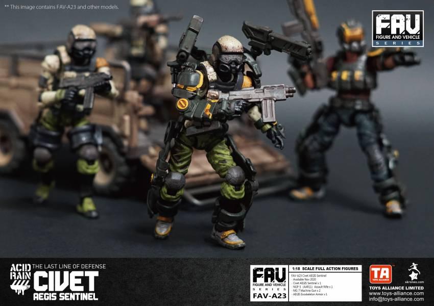 酸雨戰爭 FAV-A23 麝貓埃癸斯尖兵Civet AEGIS Sentinel
