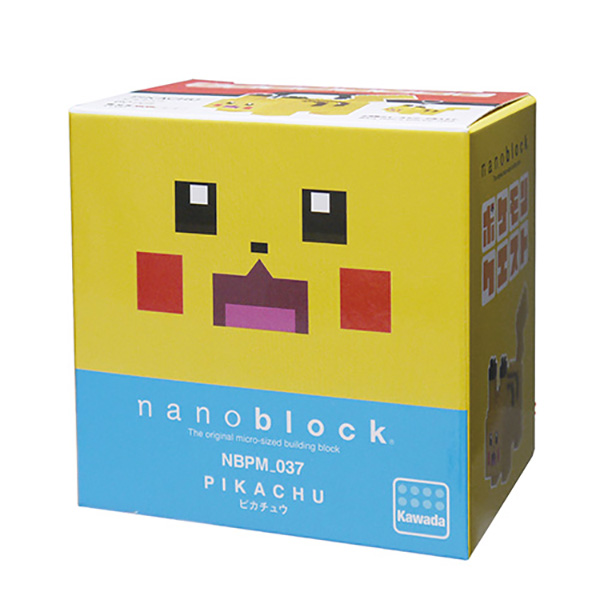 nanoblock NBPM-037 POKEMON QUEST 皮卡丘 KD21192