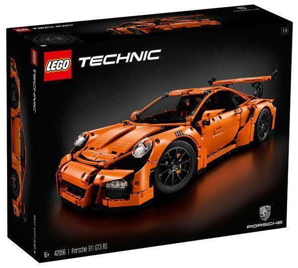LEGO樂高 LT42056 Speed Champions系列 Porsche 911 GT3 RS V29