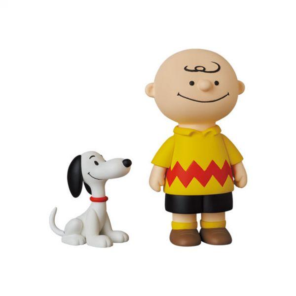 Medicom Toy 軟膠 UDF Peanuts Series 12 50s CHARLIE BROWN and SNOOPY