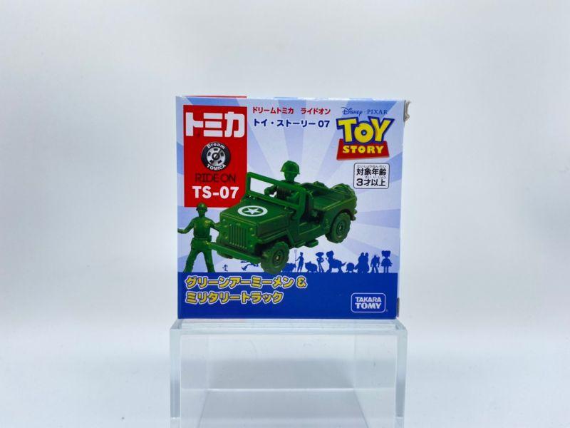 【特價品】TOMICA 玩具總動員4 TS-07 綠色小士兵 & 軍事車