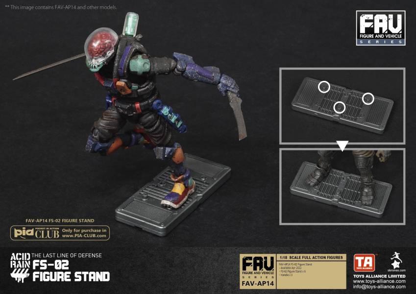 TOYS ALLIANCE 酸雨戰爭 FAV-AP14 FS-02 Figure Stand