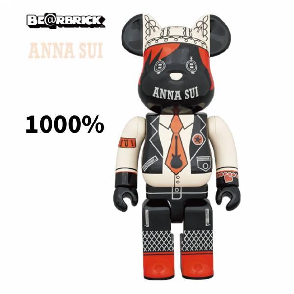 庫柏力克熊 BE@RBRICK 1000% ANNA SUI RED & BEIGE