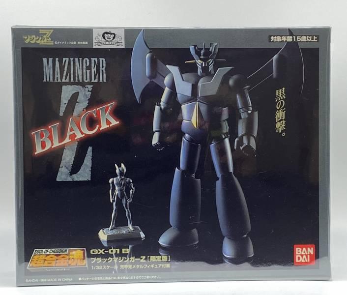 【中古品】BANDAI 超合金魂 GX-01B 黑色限定版 無敵鐵金剛