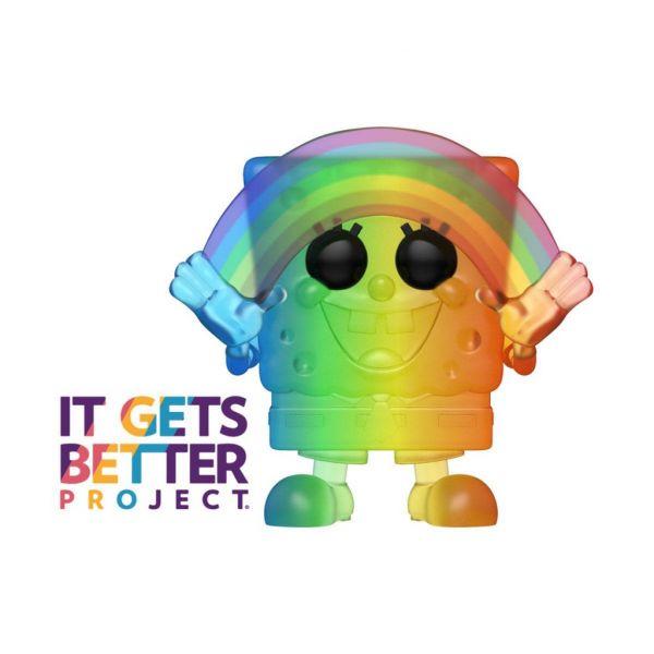 FUNKO POP 彩紅系列 Pride 2020 海綿寶寶 FK49842