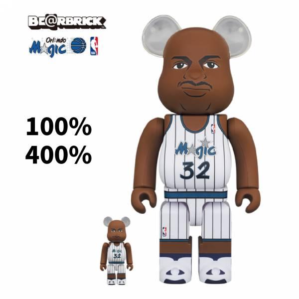 庫柏力克熊 BE@RBRICK 100%&400% set Shaquille ONeal (Orlando Magic)