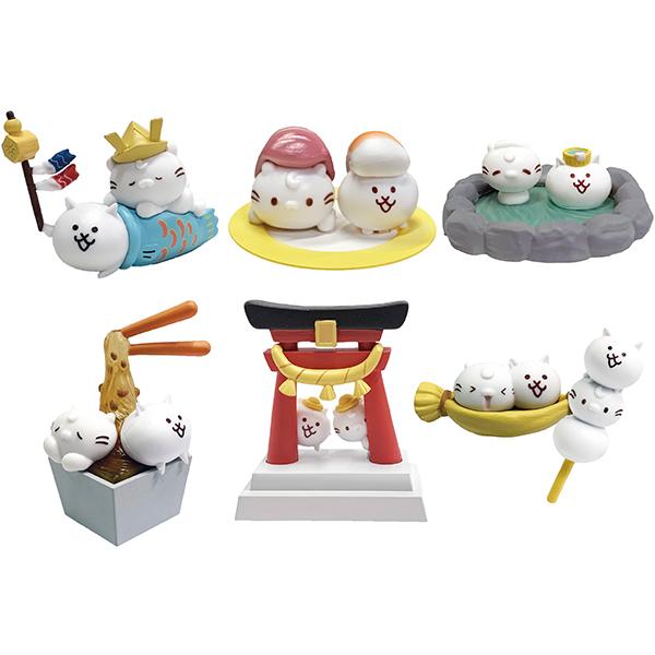 麻吉貓 貓咪大戰爭 遊日本 轉蛋 系列 全套六種