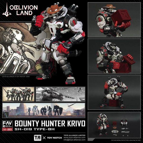 酸雨戰爭 FAV-OB01 賞金獵人克里夫+箱子Bounty Hunter Krivo