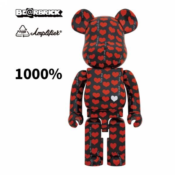 庫柏力克熊 BE@RBRICK 1000% Black Heart