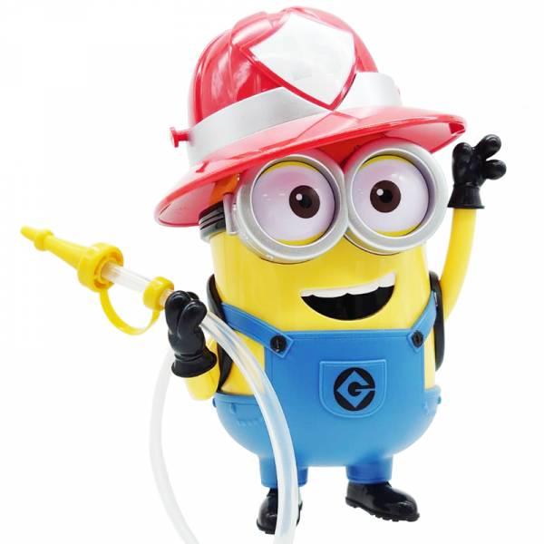環球影城 小小兵 BOB 消防員 吸管水壺