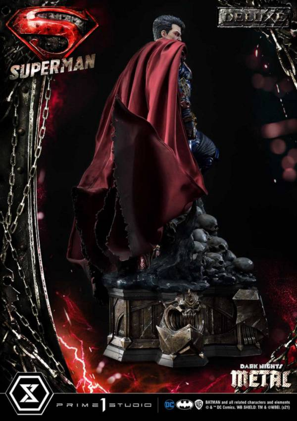 MMDCMT-08DX 暗黑之夜:金屬 超人 豪華版