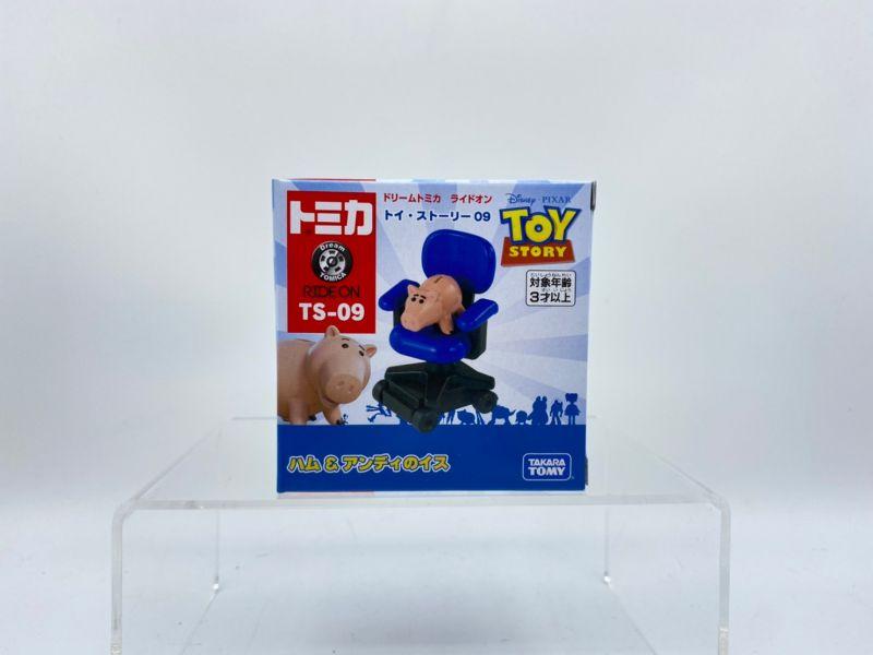 【特價品】 TOMICA 玩具總動員4 TS-09 火腿豬&安迪椅子
