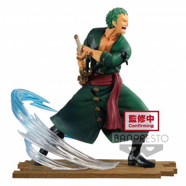 BANPRESTO 代理版 海賊王 LOG FILE SELECTION-FIGHT-vol.1 索隆