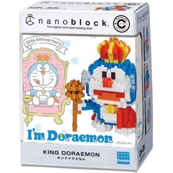 nanoblock CN-25 國王哆啦A夢 KD21815
