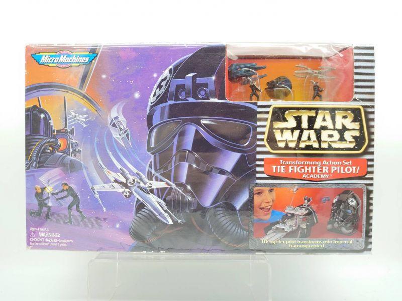 【中古品】Micro machines 星際大戰 鈦戰機 駕駛員 頭盔 微型場景