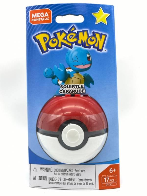【特價品】Pokemon Mega Construx 美高創建精靈 寶可夢精靈球 傑尼龜
