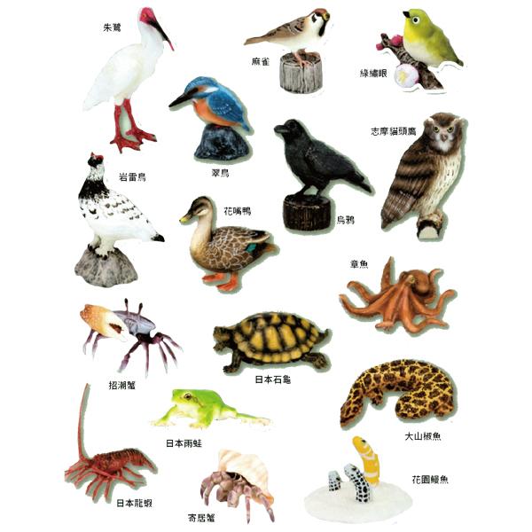 EIKOH 微型動物星球 買即贈隨機場景一組 動物世界 EX8 全套 共16款