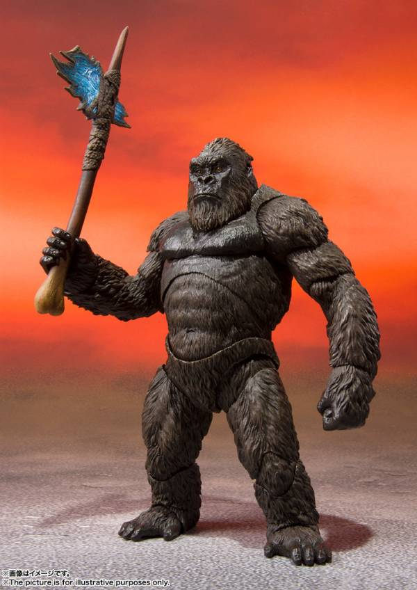 BANDAI S.H.MonsterArts 哥吉拉大戰金剛 金剛 KONG 2021