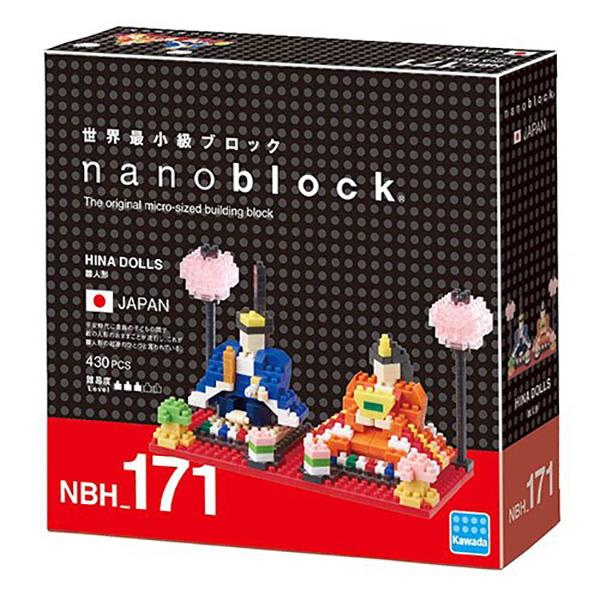 nanoblock NBH-171 雛人形 KD21276