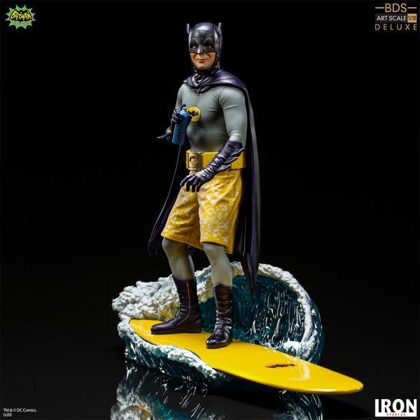 蝙蝠俠電視劇 蝙蝠俠 豪華版 BDS 雕像【IRON STUDIOS】
