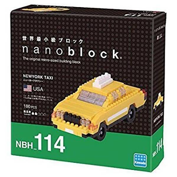 nanoblock NBH-114 紐約計程車