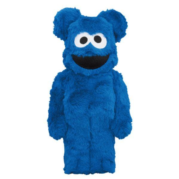 庫柏力克熊 BE@RBRICK 400% Cookie Monster Costume ver. 餅乾怪獸