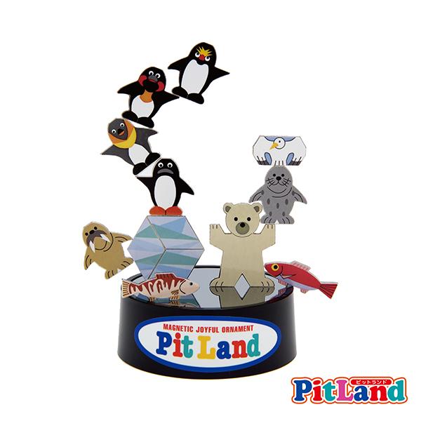 PIT LAND 磁鐵教育玩具 PT-6 企鵝冰雪王國