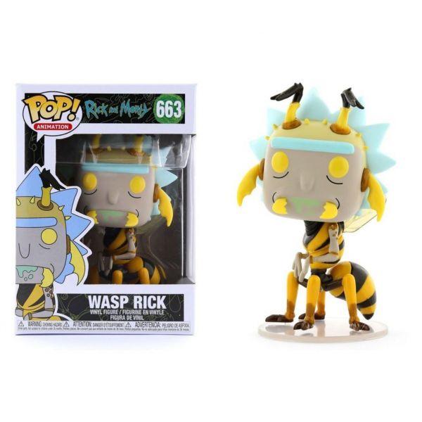 FUNKO POP 動畫系列 瑞克和莫蒂 黃蜂瑞克