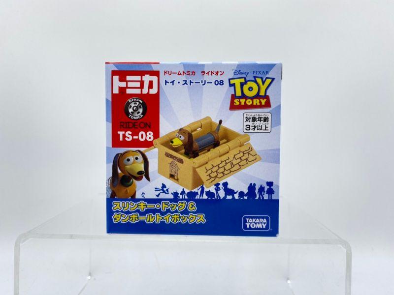 【特價品】TOMICA 玩具總動員4 TS-08 彈簧狗&箱子