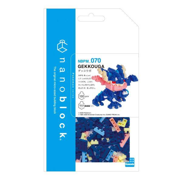 nanoblock NBPM-070 精靈寶可夢 甲賀忍蛙 KD21943