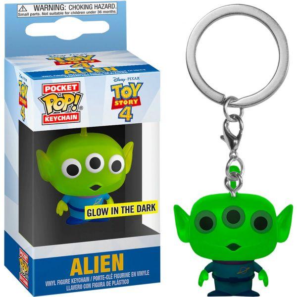 FUNKO POP 鑰匙圈 玩具總動員 三眼怪夜光版