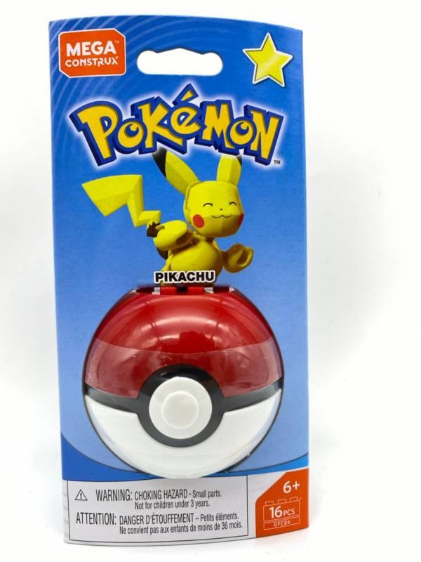 【特價品】Pokemon Mega Construx 美高創建精靈 寶可夢精靈球 皮卡丘
