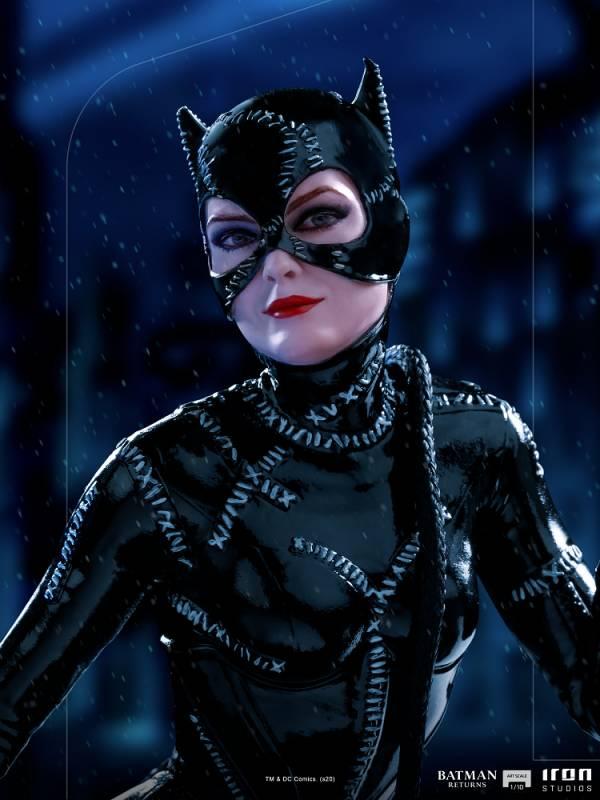 IRON STUDIOS 蝙蝠俠大顯神威 貓女 雕像
