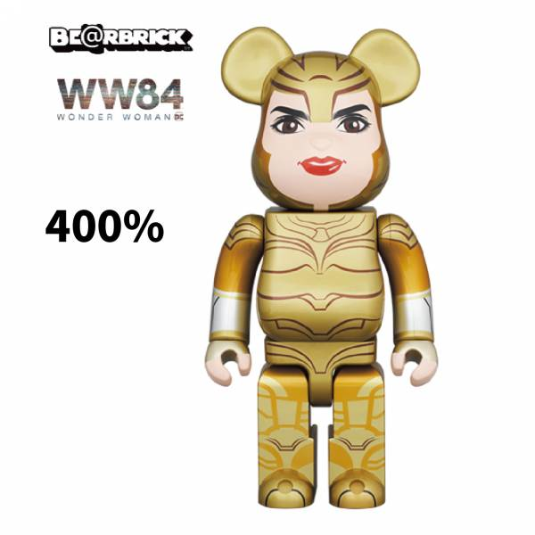 庫柏力克熊 BE@RBRICK 400% WONDER WOMAN GOLDEN ARMOR