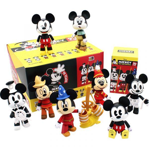 COSMI Action Disney 米奇90週年 全九款 一中盒 1M(8cm)