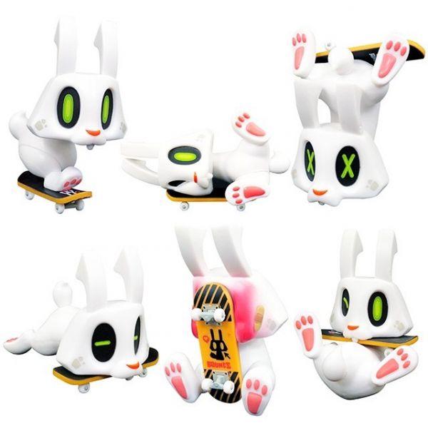 BOUNCE 棒小兔 滑板 轉蛋 全套六款(不含隱藏)