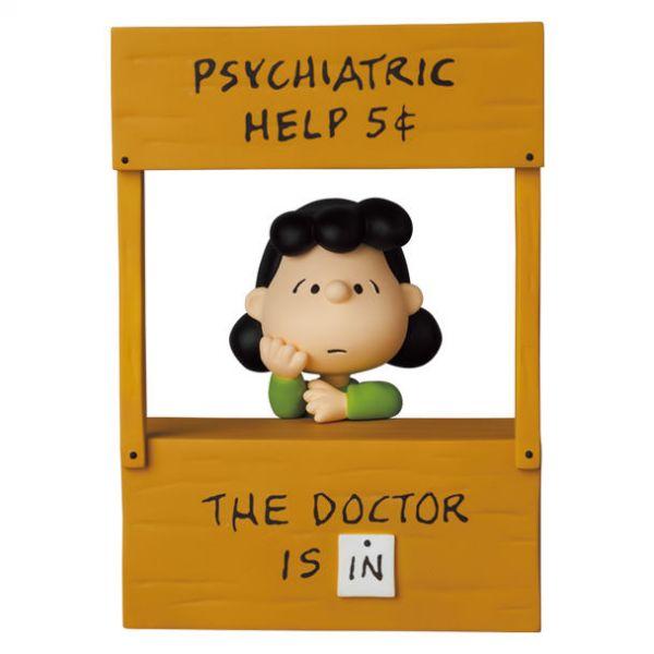 Medicom Toy 軟膠 UDF Peanuts Series 12 PSYCHIATRIC HELP LUCY
