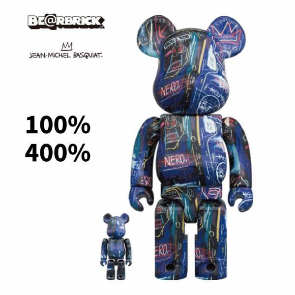 庫柏力克熊 BE@RBRICK 100%&400% JEAN-MICHEL BASQUIAT #7