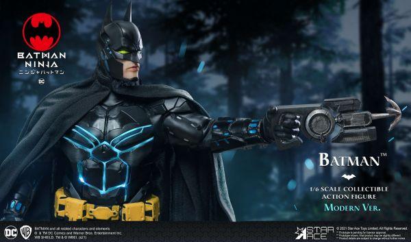 SA0102 忍者蝙蝠俠 蝙蝠俠 現代戰甲款 一般版