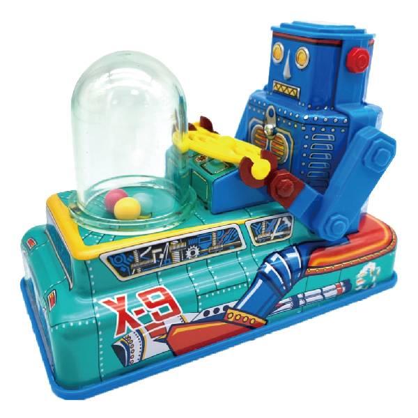 MASUDAYA 日製 鐵皮玩具 mini X-9 space robot ca r 迷你X-9太空機器車
