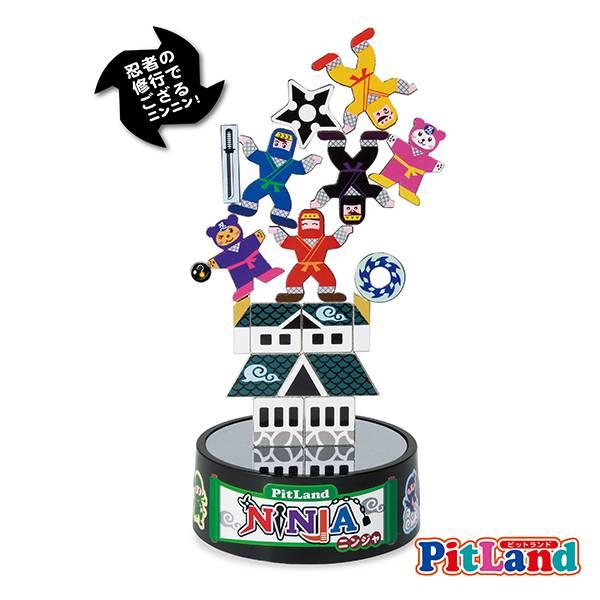 PIT LAND 磁鐵教育玩具 PT-12 忍者