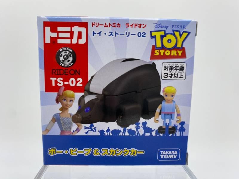 【特價品】TOMICA 玩具總動員4 TS-02 牧羊女&臭鼬車