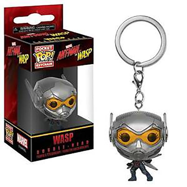 FUNKO POP  鑰匙圈 蟻人與黃蜂女 黃蜂女