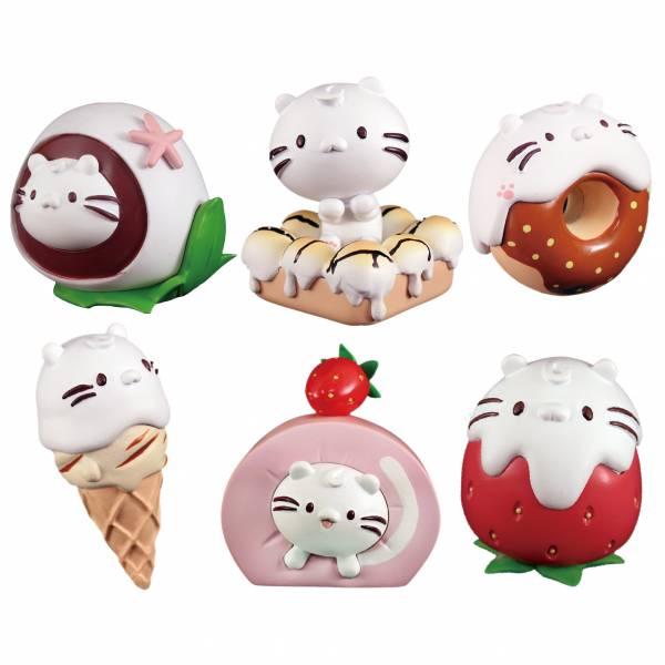 麻吉貓 甜點小物 轉蛋系列 全套六種