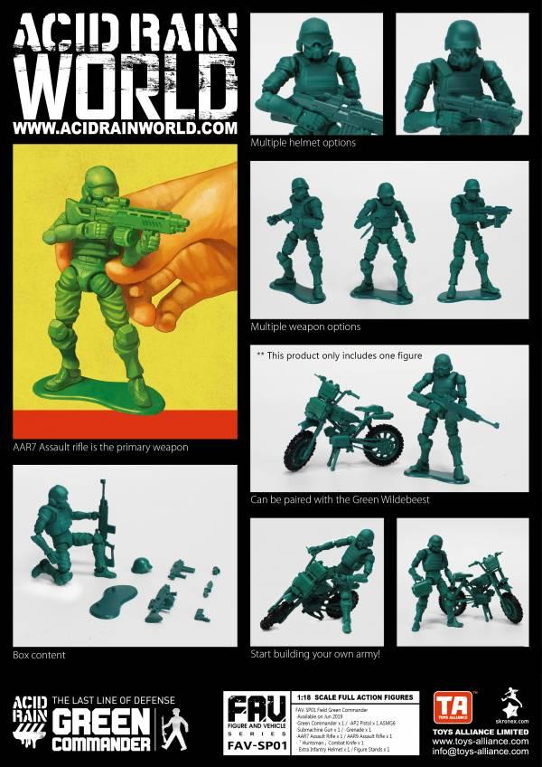 酸雨戰爭 FAV-SP01 Green Commander 綠兵指揮官兵