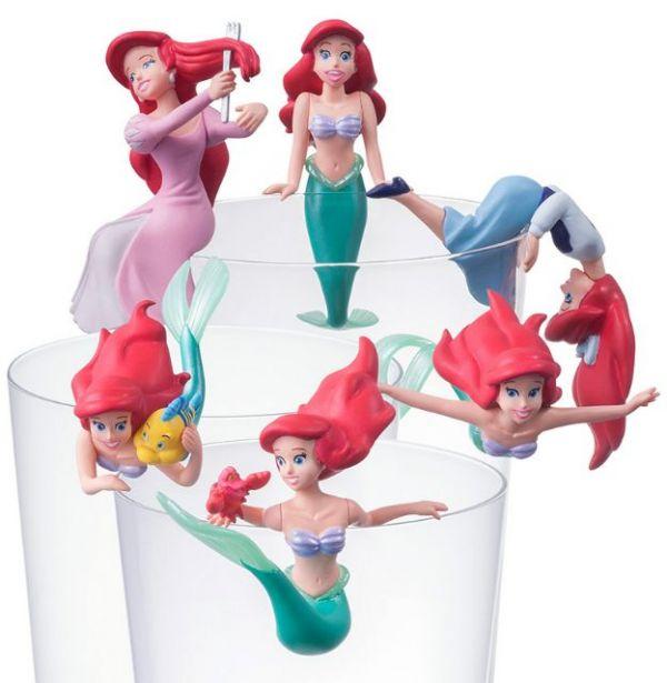 杯緣子 小美人魚 艾莉兒 全六款 一中盒 8入 PUTITTO