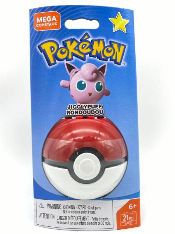 【特價品】Pokemon Mega Construx 美高創建精靈 寶可夢精靈球 胖丁