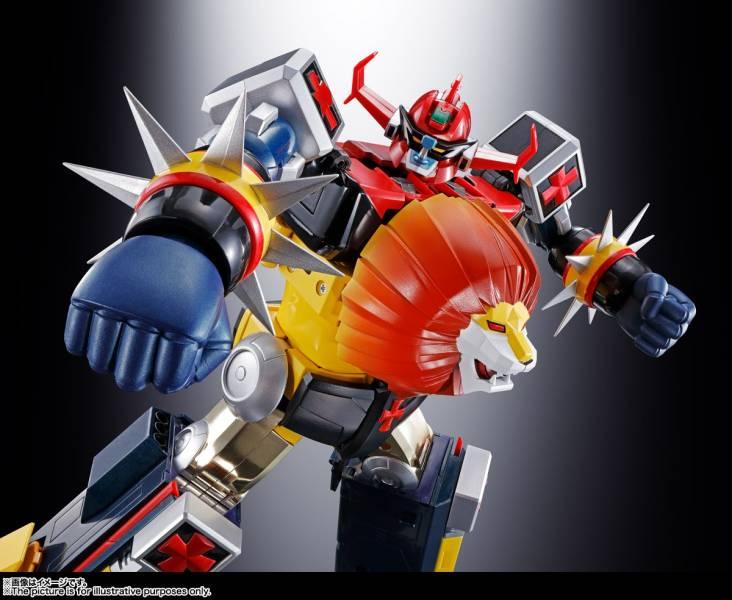 BANDAI 超合金魂 GX-59R 未來合體 巨獸王