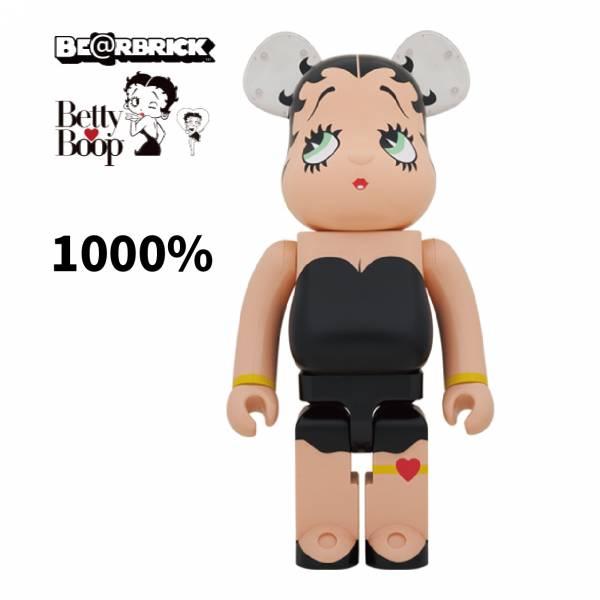庫柏力克熊 BE@RBRICK 1000% Betty Boop BLACK Ver.